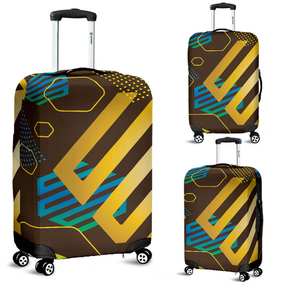 Experimental Gold Luggage Cover