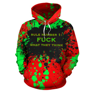 Rule number one is FUCK what they think. Boss Girl Quotes Fresh Style Unisex Hoodie