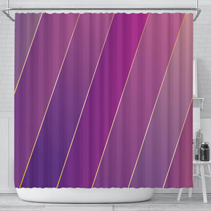Glamour Purple Shower Curtain