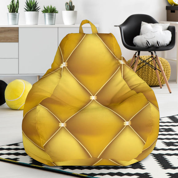 Exclusive Golden Pattern Bean Bag Chair
