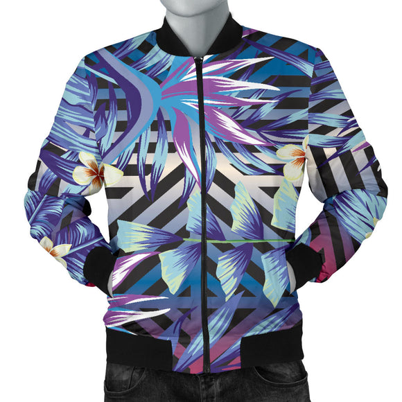 Summer Jungle Love Men's Bomber Jacket