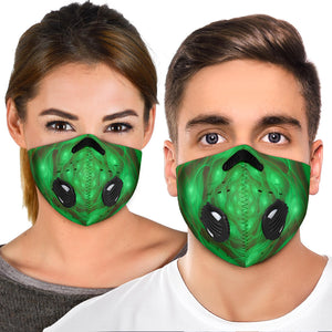 Colorful Future Design Two Premium Protection Face Mask