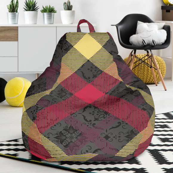 Exclusive Tartan Bean Bag Chair
