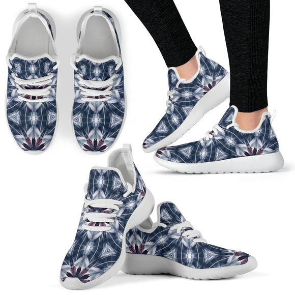 Dangerous Virus Of Love Mesh Knit Sneakers