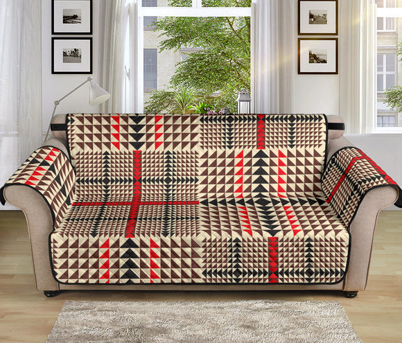 Awesome Tartan Plaid 70'' Sofa Protector