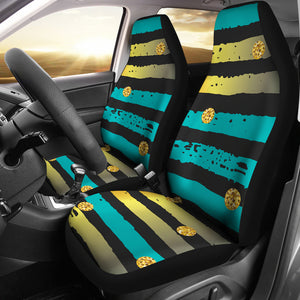 Luxury Neon Strips Car Seat Cover
