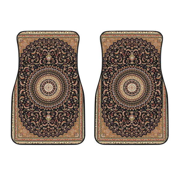 Luxury Oriental Mandala Carpet 2 Front Car Mats