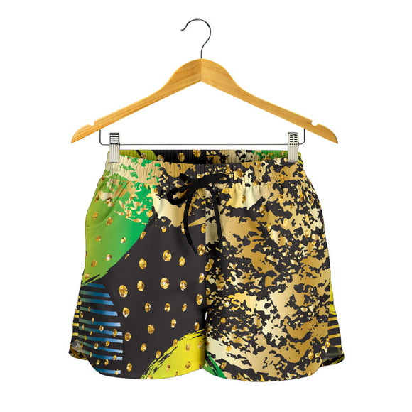 Energizing Neon Dots Women's Shorts