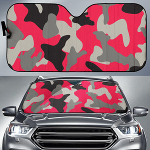 Woman Army Style Auto Sun Shades