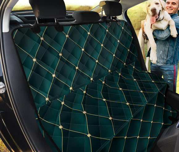 Royal Green Love Pet Seat Cover