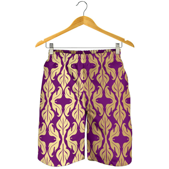 Purple Baroque Men's Shorts