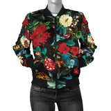 Romantic Secret Garden Women's Bomber Jacket