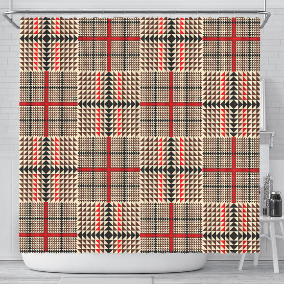 Awesome Tartan Plaid Shower Curtain