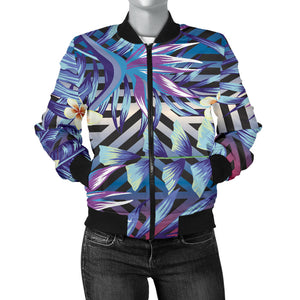 Summer Jungle Love Women's Bomber Jacket