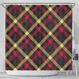 Exclusive Tartan Shower Curtain