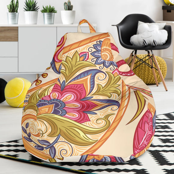 Royal Paisley Bean Bag Chair