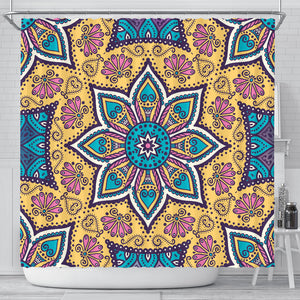 Lovely Boho Mandala Vol. 3 Shower Curtain