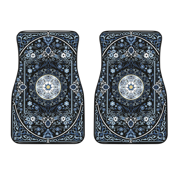 Luxury Oriental Mandala Carpet 15 Front Car Mats