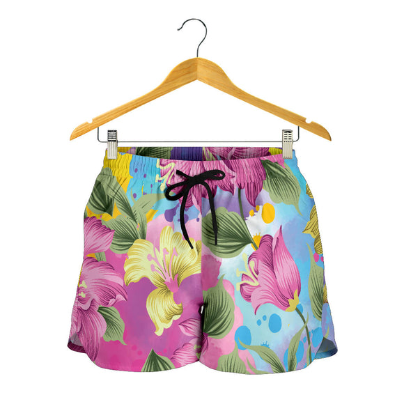 Lovely Pink Women's Shorts