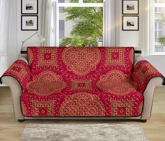 Royal Red 70'' Sofa Protector