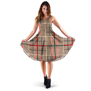 Awesome Tartan Plaid Women's Dress