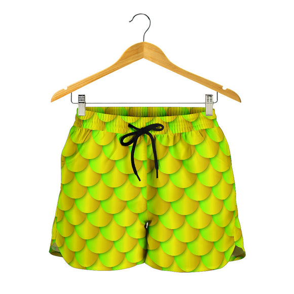 Neon Mermaid Women's Shorts