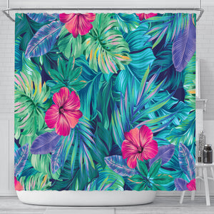 From The Jungle Shower Curtain