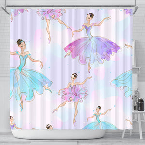 I Want To Be A Ballerina Shower Curtain