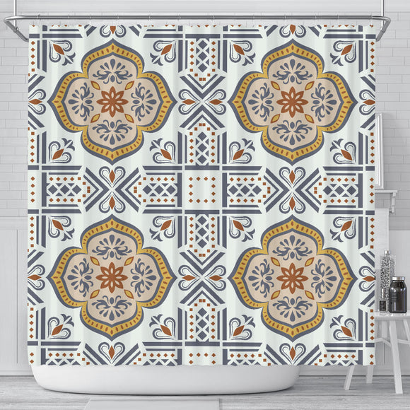 Oriental Vibes Vol. 2 Shower Curtain
