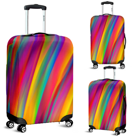 Multicolor Luggage Cover