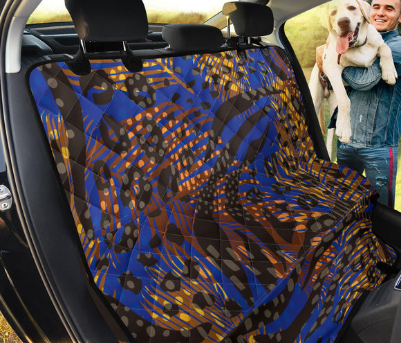 Blue Nature Love Pet Seat Cover