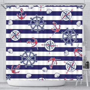 Yachting Lovers Club Shower Curtain