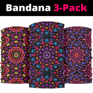 Mandala 4 Design by This is iT Original Bandana 3-Pack