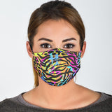 Lovely Magical Painted Zebra Protection Face Mask