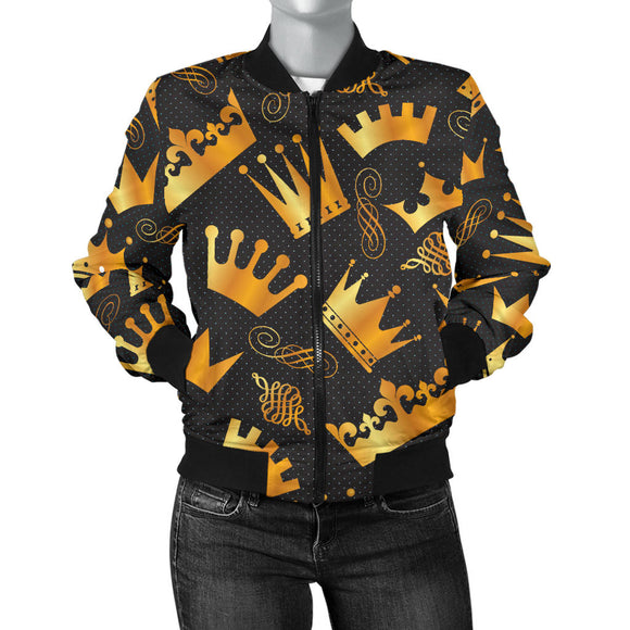 Queen And King Women's Bomber Jacket