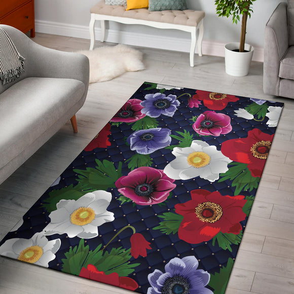 Romantic Flowery Dream Area Rug