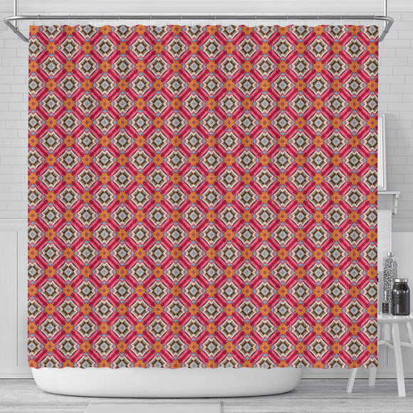 Ornamental Simplicity Shower Curtain