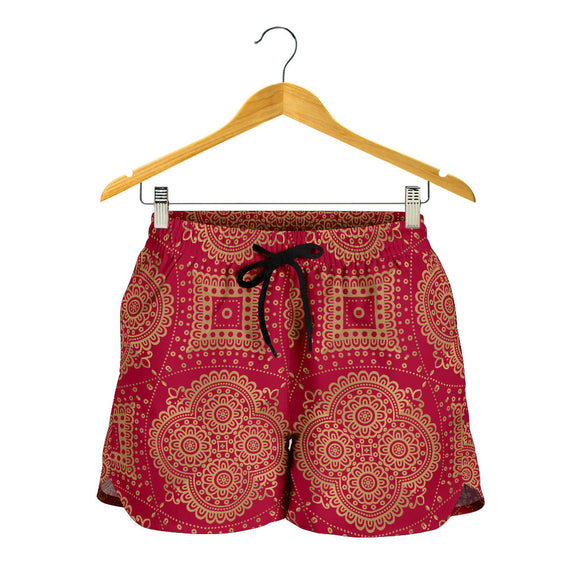 Royal Red Women's Shorts