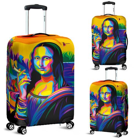 Mona Lisa Luggage Cover