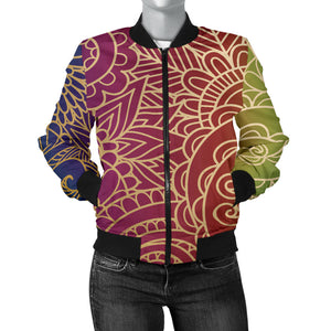 In The Sky Women's Bomber Jacket