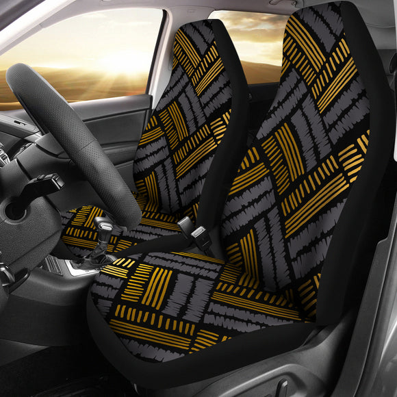 Glittering Gold Love Car Seat Cover