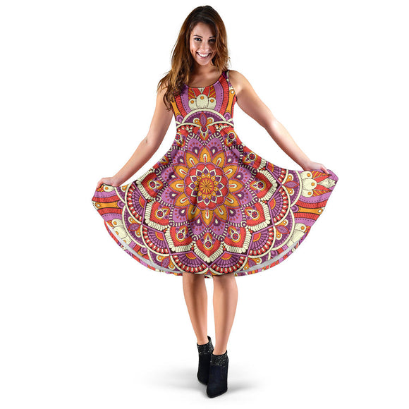 Lovely Boho Mandala Vol. 1 Women's Dress