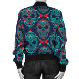 Skull With Poison Women's Bomber Jacket