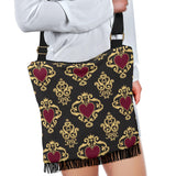 Luxury Royal Hearts Crossbody Boho Handbag