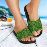 In Love With Crocodile Slide Sandals