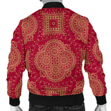 Royal Red Men's Bomber Jacket