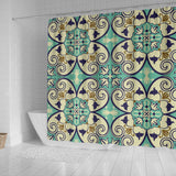 Oriental Vibes Vol. 7 Shower Curtain