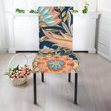 Romantic Paisley Dining Chair Slip Cover
