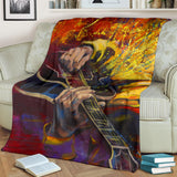Music Is My Only Passion Premium Blanket