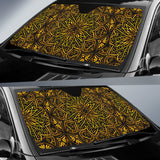 Luxury Golden Beauty Auto Sun Shades